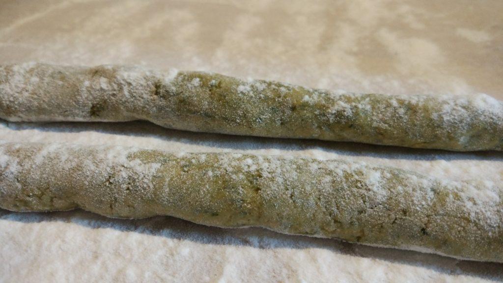 Gnocchi di batata e bietole senza glutine
