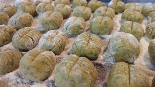 Gnocchi di patate dolci e bietole senza glutine