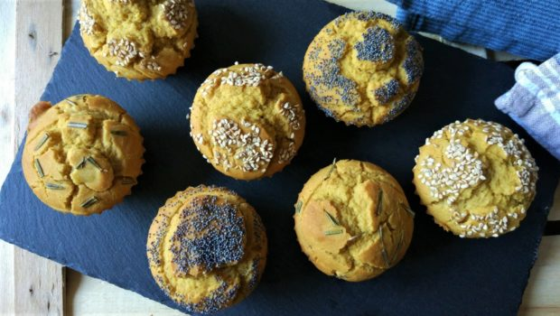 Muffin salati dei 7 vasetti senza glutine e uova