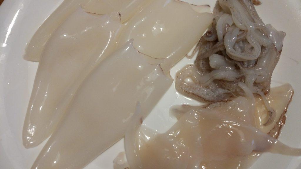 Calamari medi puliti