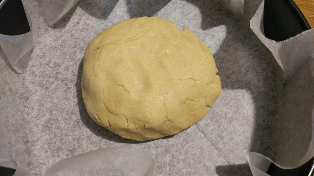 Base della crostata salata senza glutine