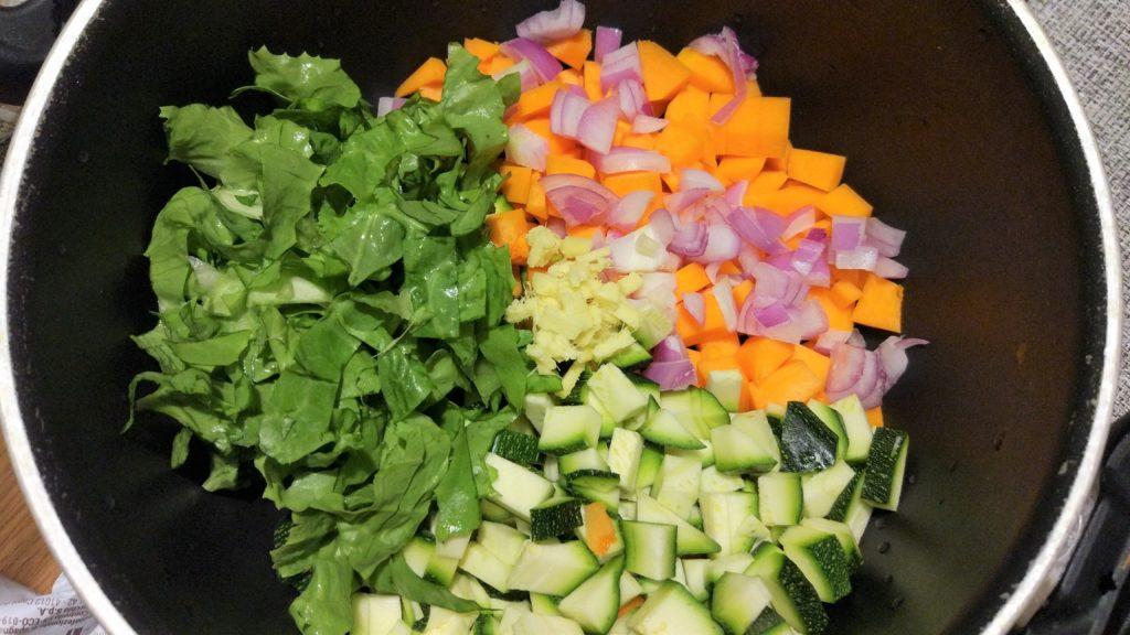 soffritto di verdure