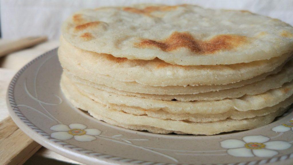 Roti chapati senza glutine