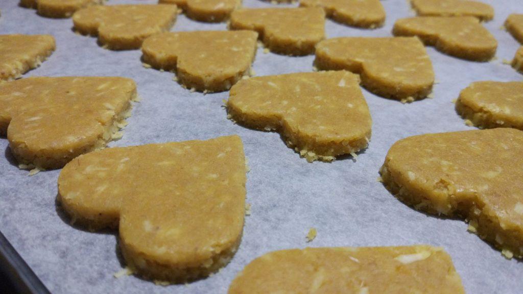 ricavare i biscotti