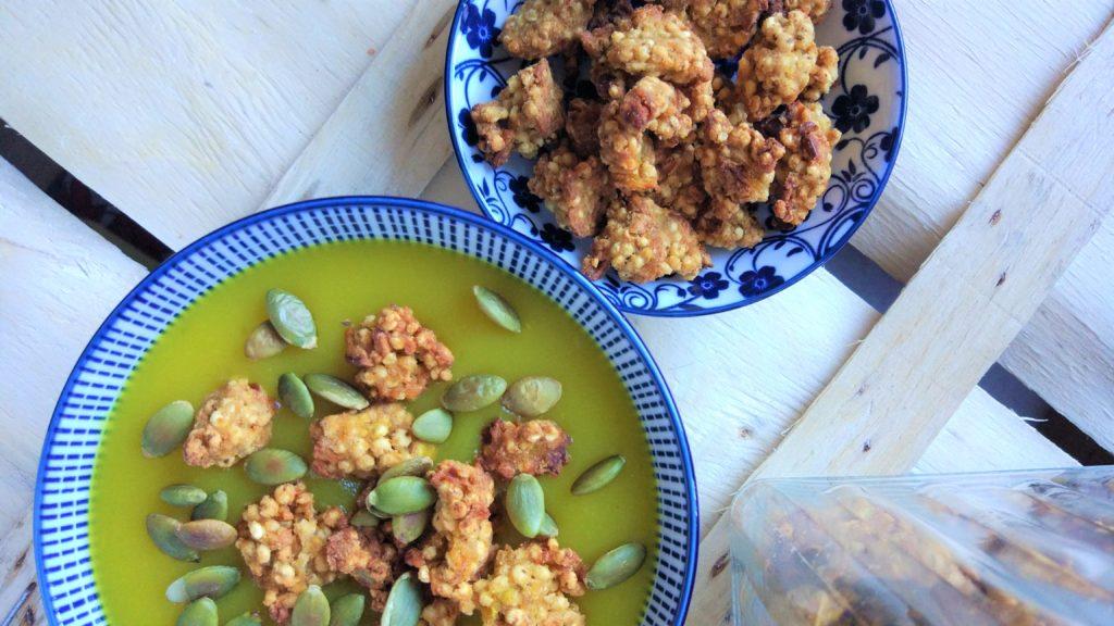Cereali croccanti senza glutine, nichel, lattosio, zucchero e vegan