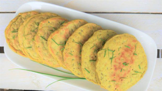 Pancakes sofficissimi al riso cotto e curcuma