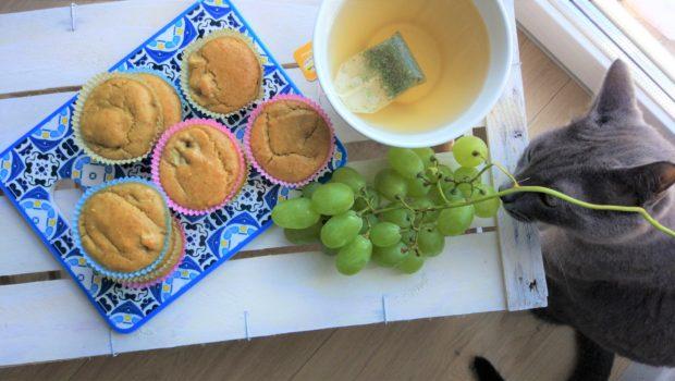 Muffin speziati alla banana vegan senza glutine