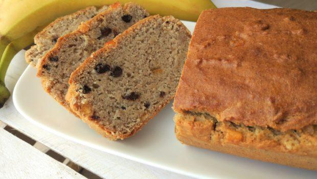 Banana bread vegan senza glutine ai canditi