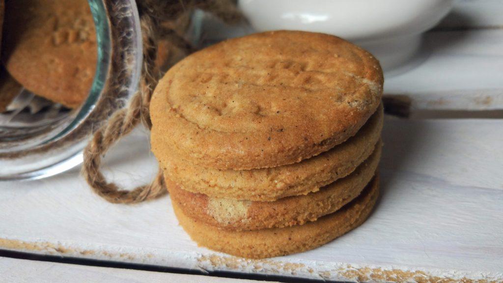 Biscotti spekulatius senza glutine vegan